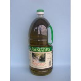 Botella PET Aceite de Oliva Virgen Extra 2 Litros (DO)